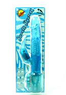 Jungle Jiggler Bird 7 Inch Blue Waterproof