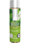 Jo H2o Water Based Flavored Lubricant Green Apple 4oz